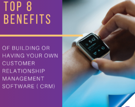 TOP 8 BENEFITS of building or having your own Customer Relationship Management Software (CRM)